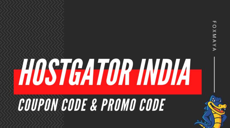 HostGator India Coupons