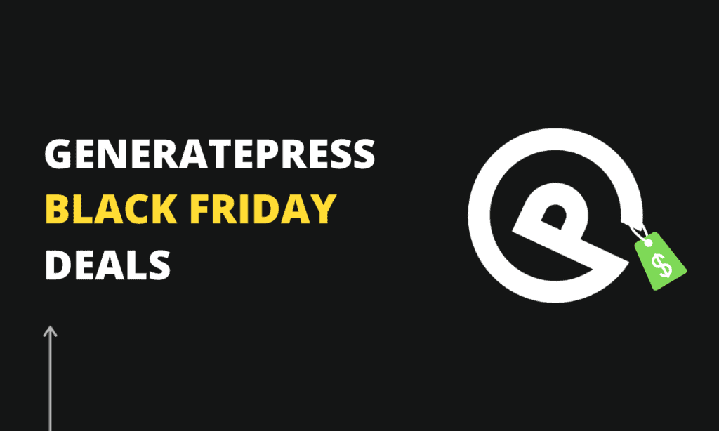 Generatepress-black-friday-deals