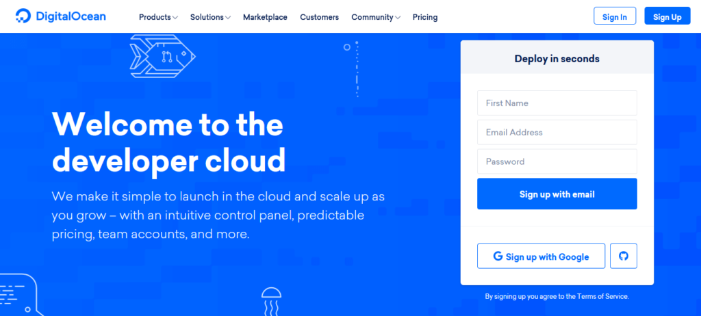 Digitalocean-cloud-vps-hosting