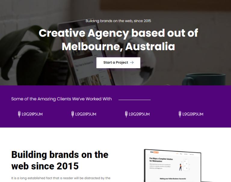 development-agency-elementor-template
