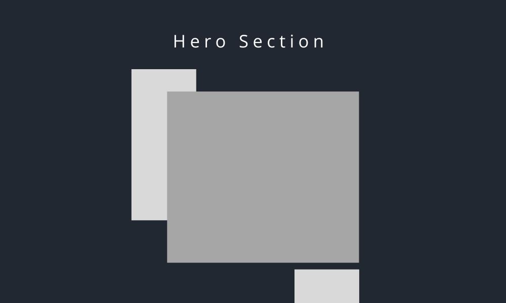 elementor hero section blocks
